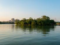 惠州西湖红棉木榭岛屿