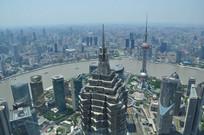 上海黄浦江全景