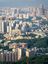 惠州市区城市建筑风光