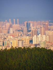 惠州市区建筑鸟瞰风光