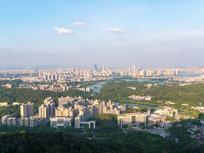 惠州市区鸟瞰风光