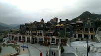 时光贵州古镇全景
