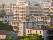 惠州旧楼房特写