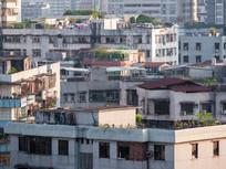 惠州老住宅建筑鸟瞰