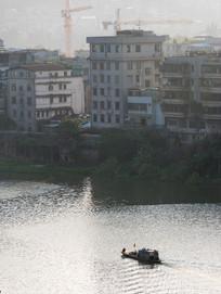 惠州西枝江边的建筑