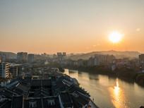 惠州西枝江沿岸建筑