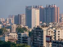 远眺惠州第三人民医院建筑