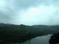 暴雨即将来临的天空