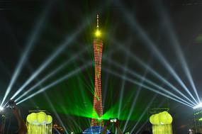 灯光节广州塔