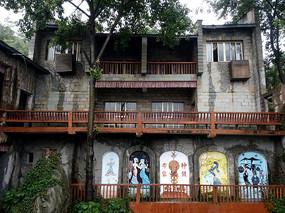 红枫湖景区建筑