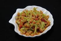 家常菜西红柿花菜