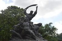 纪念中国人民抗日战争雕塑作品