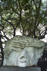 梦断家园的雕塑作品