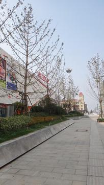 青岛的港湾万达广场