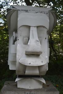 纪念爱因斯坦的雕塑