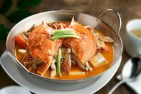 豆腐蟹锅仔