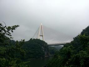 红枫湖大桥远景
