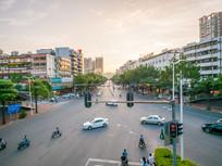 惠州东平片区交通路口
