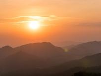 惠州高榜山的日晕