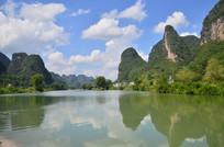 秀丽的桂林山水风景