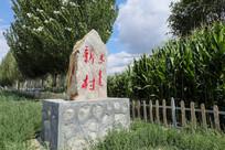 村头标牌雕刻