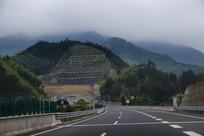 高速隧道风景