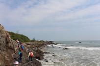 海岸线穿越