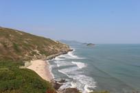 黑排角海滩沙滩风景