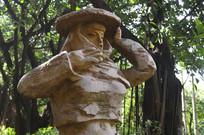 惠安女石雕特写