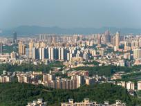 惠州城市建筑鸟瞰风光