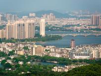 惠州桥西与江北建筑