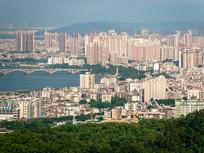 惠州市区东部城市风光
