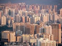 惠州市区建筑天际线
