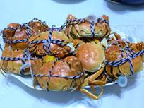 清蒸大闸蟹