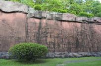 壁上的南州风采浮雕