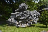 怪异巨型假山石