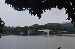 阴天自然风景