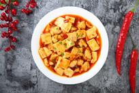 麻婆豆腐鸡丁