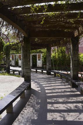 藤架走廊长廊