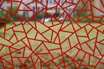 红色窗格背景素材