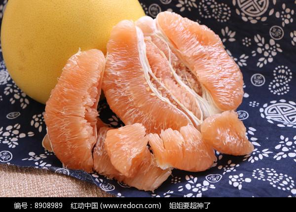 黄心黄柚图片
