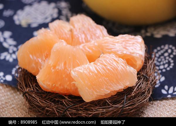 黄心蜜柚图片