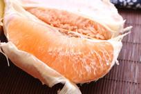 黄心柚子肉特写