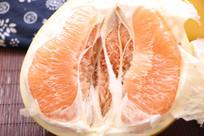 黄心柚子特写