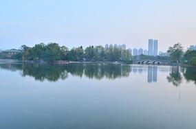 湖泊风光图片