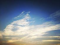 蓝色天空风云