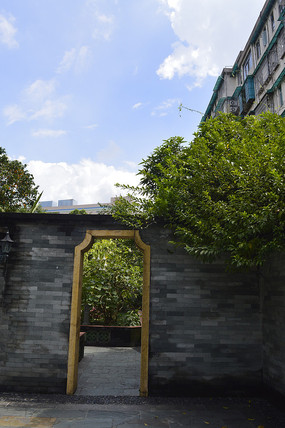 神农草堂草药园区景观