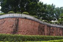 中医药历史浮雕墙