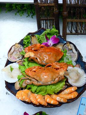 龙虾大拼盘