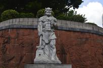 神农坛炎帝雕像